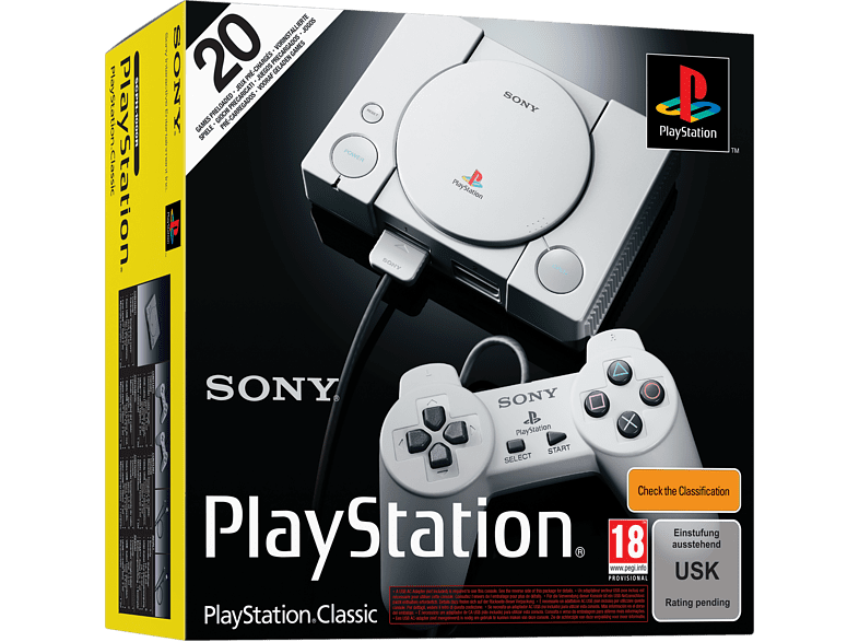 [saturn.at] Sony Playstation Classic za 39,99€ umjesto 49,99€