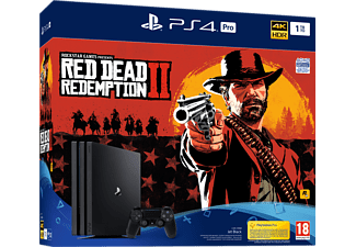 PLAYSTATION PS4 Pro 1 TB Zwart + Red Dead Redemption 2 FR