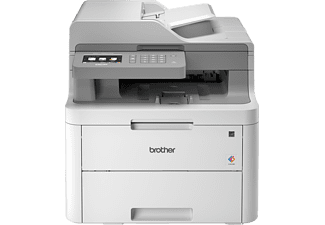 BROTHER DCP-L3550CDW, 3-in-1 Laser-Multifunktionsdrucker (Farbe), Schwarz