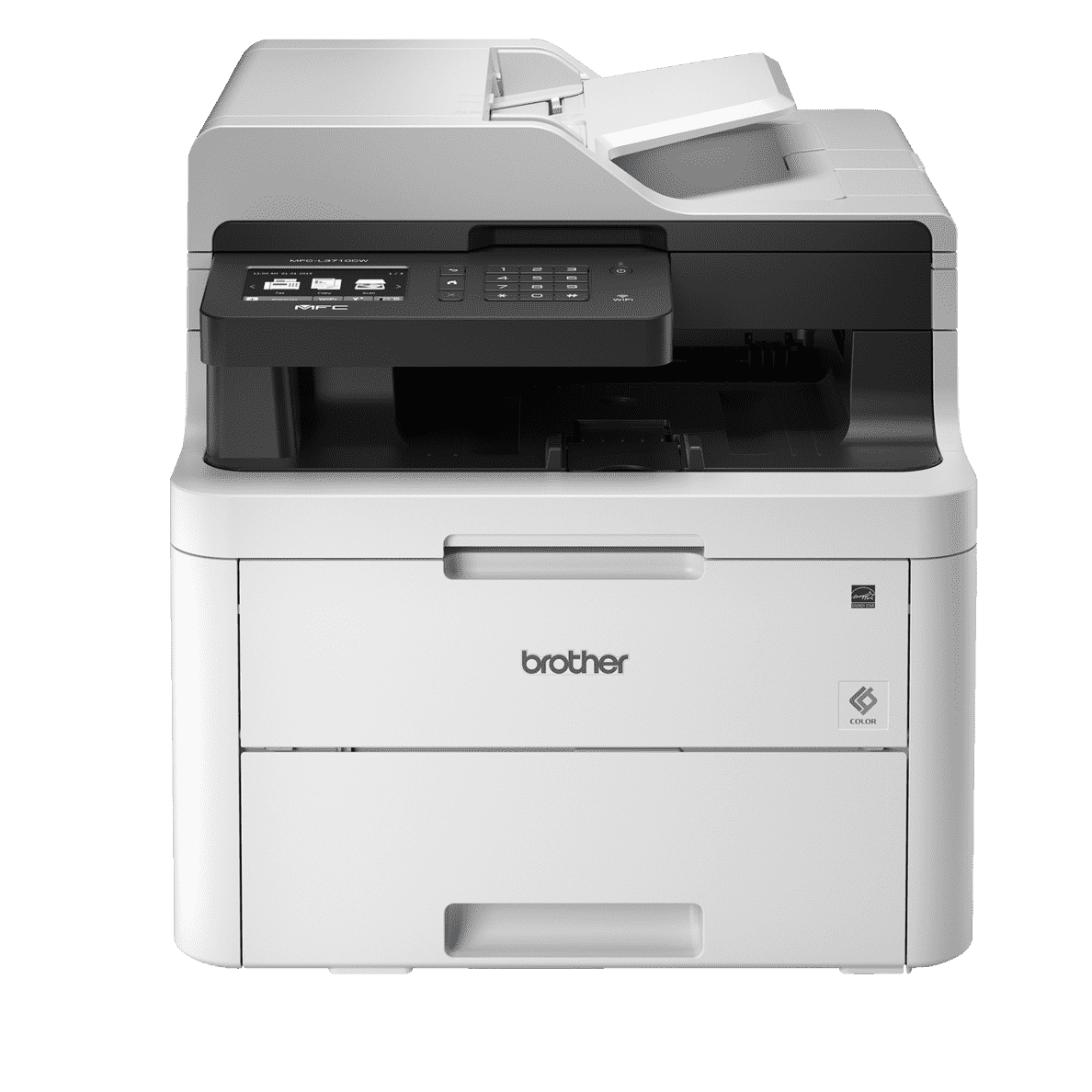 BROTHER MFC-L3710CW 4-in-1 Laser-Multifunktionsdrucker (Farbe) in Schwarz