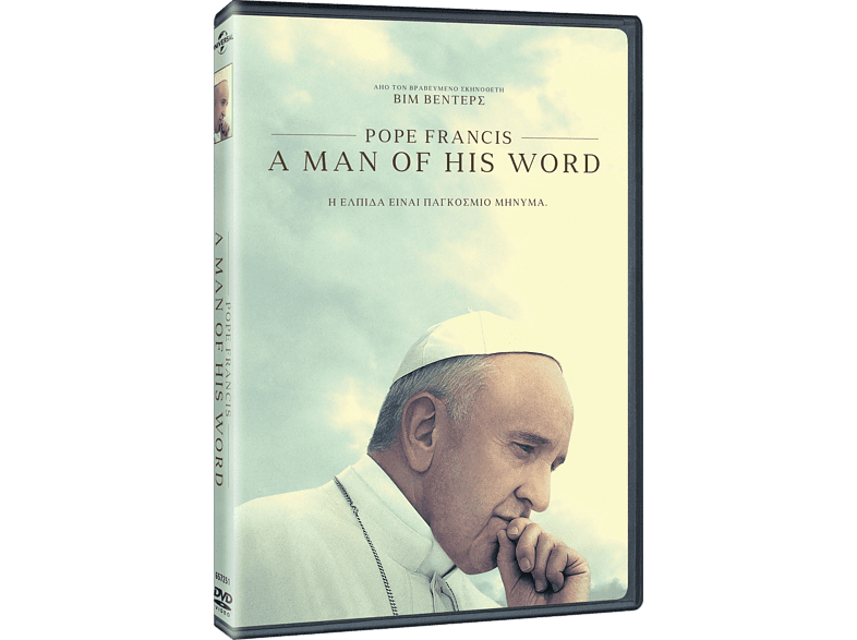 Pope Francis a man of his word DVD