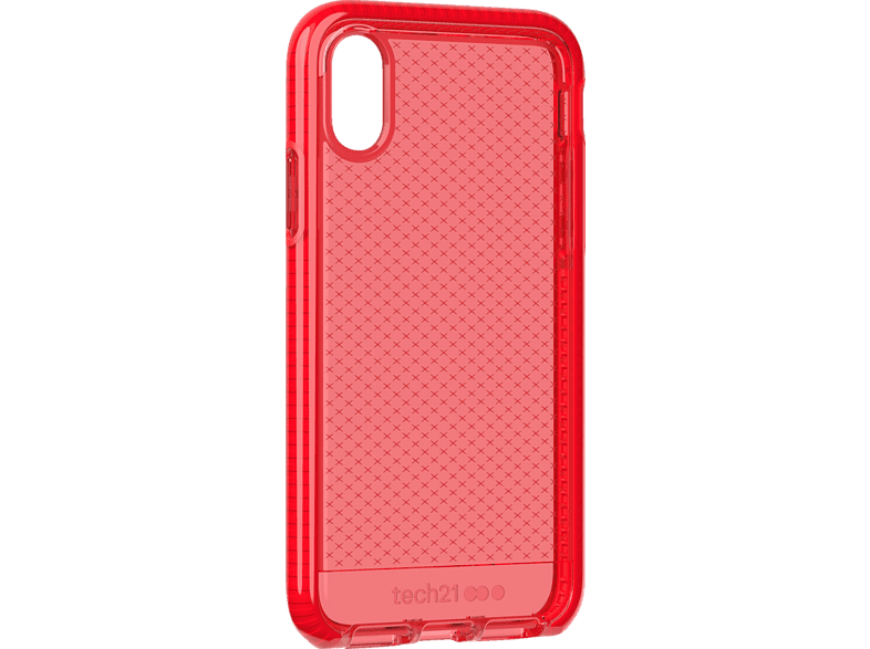 TECH21  Evo Check Backcover Apple iPhone XS Rot | 05056234707265