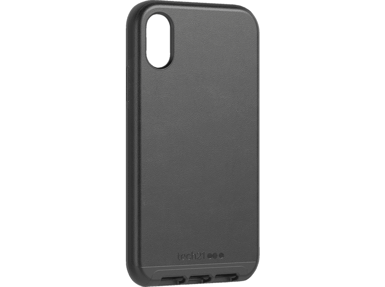 TECH21  Evo Luxe Backcover Apple iPhone XR Kunstleder Schwarz | 05056234704691
