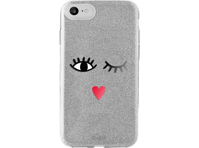 PURO  Shine Backcover Apple iPhone 7 Silber | 08033830267604
