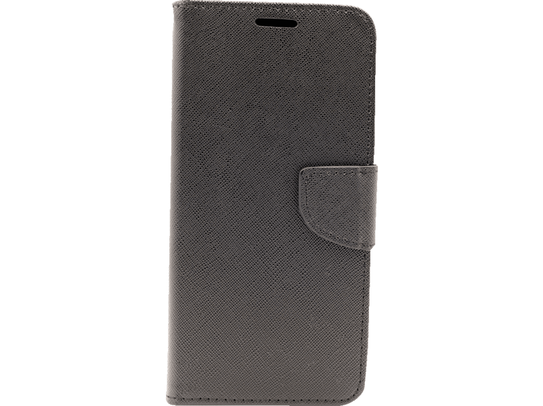 AGM  27292 Bookcover Apple iPhone XS Max Obermaterial Silikon und Thermoplastisches Polyurethan Schwarz | 04026436272923