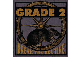 Grade 2 - Break The Routine (Dark Purple Vinyl) - (Vinyl)