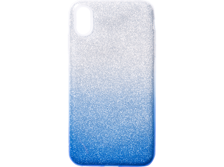 V-DESIGN  VSP 095 Backcover Apple iPhone XS Max Plastik + Thermoplastisches Polyurethan Blau | 04056212037873