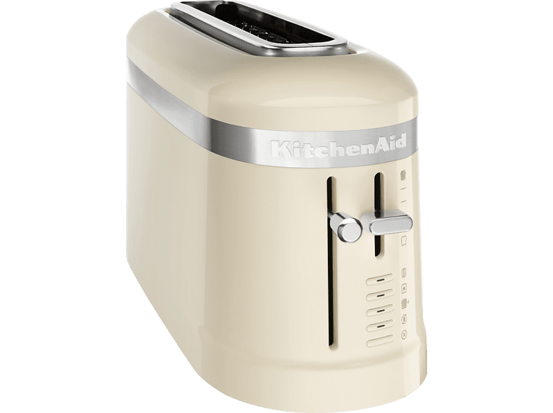 KITCHENAID  5KMT3115EAC Design Collection Toaster Creme (900 Watt, Schlitze: 1) | 05413184901318