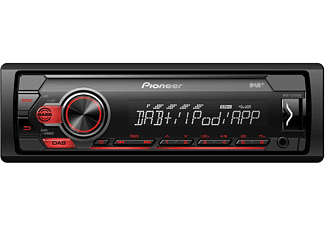 pioneer autoradio mvh s210dab 1 din mechafree mit dab dab. Black Bedroom Furniture Sets. Home Design Ideas
