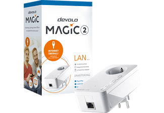 Powerline Adapter DEVOLO 8252 Magic 2 LAN 1-1-1 Powerline 2400 Mbit/s kabelgebunden