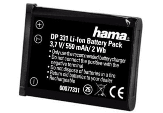 Batería recargable - Hama Rechargeable Li-Ion Battery DP 331 f/ Nikon Ión de litio 550mAh 3.7V