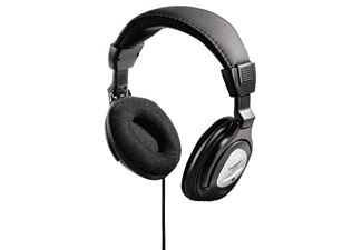 Auriculares con cable - Thomson HED415N Negro, Plata, diadema, cable 2m, televisor