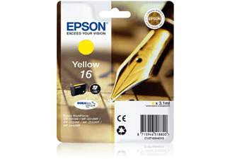 Cartucho tinta - Epson - Amarillo C13T16244020 para WorkForce WF-2010, WF-2510, WF2660, WF2630