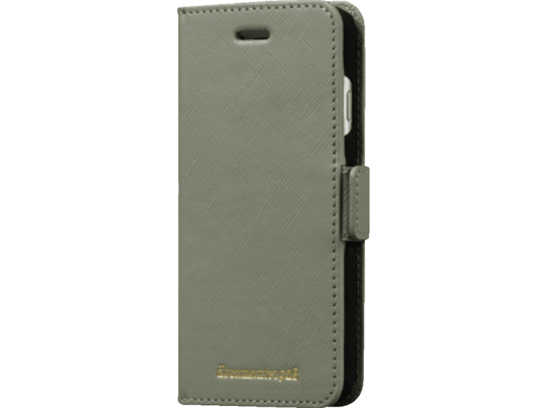 DBRAMANTE Milano , Bookcover, Apple, iPhone 6, iPhone 6S, iPhone 7, iPhone 8, Misty Mint