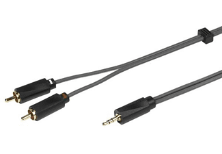 Cable Audio - Vivanco 31975, 2x RCA - 1x Jack, 5 m