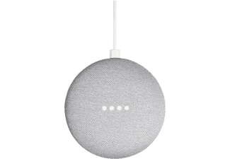 Asistente digital - Google Home Mini, Bluetooth, Sonido 360º, Micro USB, Tiza