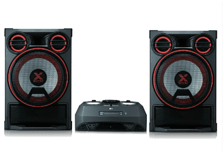 Microcadena - LG CK99, 5000 W, Bluetooth, Party Thruster, Auto DJ, Efectos DJ, Karaoke, CD, USB