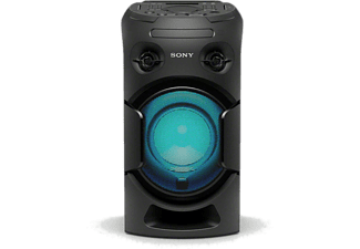 Altavoz de alta potencia - Sony MHC-V21D, Bluetooth, Karaoke, DVD, HDMI, Wireless Party Chain