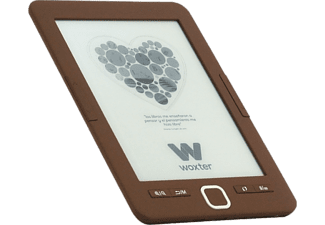 "eBook - Woxter Scriba 195 Lite, 4 GB capacidad, 6"", 20000 libros, Chocolate"