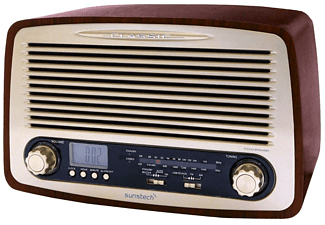 Radio - Sunstech RP-R4000, diseño retro