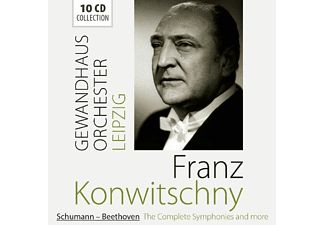 Frank Konwitschny - Schumann-Beethoven The Complete Symphonies - (CD)