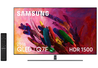 "TV QLED 55"" - Samsung 55Q7FN 2018, Ultra HD 4K, HDR 1500, Smart TV, Quantum Dot"