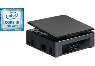 Mini PC - Intel BLKNUC7I5DNK2E, Intel® Core i5-7200U, Bluetooth, WiFi