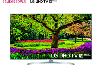 "TV LED 55"" - LG 55UK6950PLB, UHD 4K 3xHDR, Panel IPS, AI Smart TV ThinQ webOS 4.0, Sonido DTS-X"