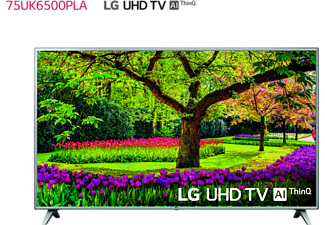 "TV LED 75"" - LG 75UK6500PLA, UHD 4K 3xHDR, Panel IPS, AI Smart TV ThinQ webOS 4.0"
