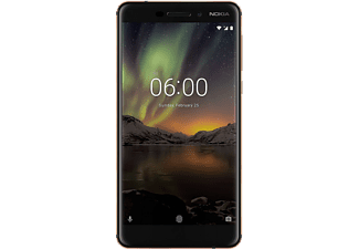 "Móvil - Nokia 6.1, 5.5"", Full HD, IPS, Snapdragon 630, 3 GB RAM, 32 GB, 16 MP + 8 MP, Vídeo 4K,"