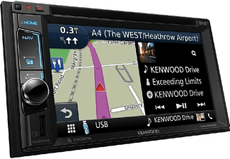 "Autorradio - Kenwood DNX-451RVS, 6.2"" VGA Táctil, GPS, DVD, 4 x 50 W, Bluetooth, CD, USB, Radio,"