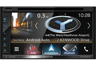 "Autorradio - Kenwood DNX-5180BTS, 6.8"" VGA Táctil, GPS, DVD, 4 x 50 W, Bluetooth, CD, USB, Radio,"