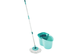 Fregona - Leifheit Clean Twist Disc Mop Active, Azul