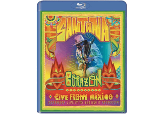 CD - Carlos Santana, Corazón, Live From Mexico: Live It To Believe It