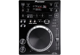 Reproductor digital DJ - Pioneer CDJ-350, USB, CD, Negro