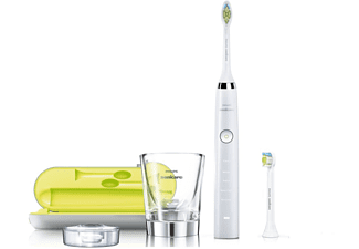 Cepillo Eléctrico - Philips Sonicare Diamond Clean HX 9332/04 Recargable, 2 cabezales de