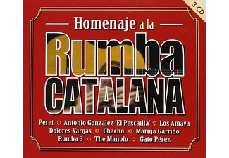 Homenaje a la rumba catalana - CD