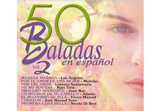 50 Baladas en español Vol.2 - CD