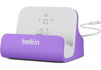 Base de carga para iPhone 5/5S y iPod Touch - Belkin, morada