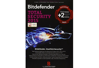 Antivirus - Bitdefender - Total Security 2015, 5 dispositivos