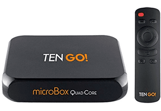 Android TV - TenGO! microBox Quad Core Miracast, 8 GB, WiFi, Bluetooth