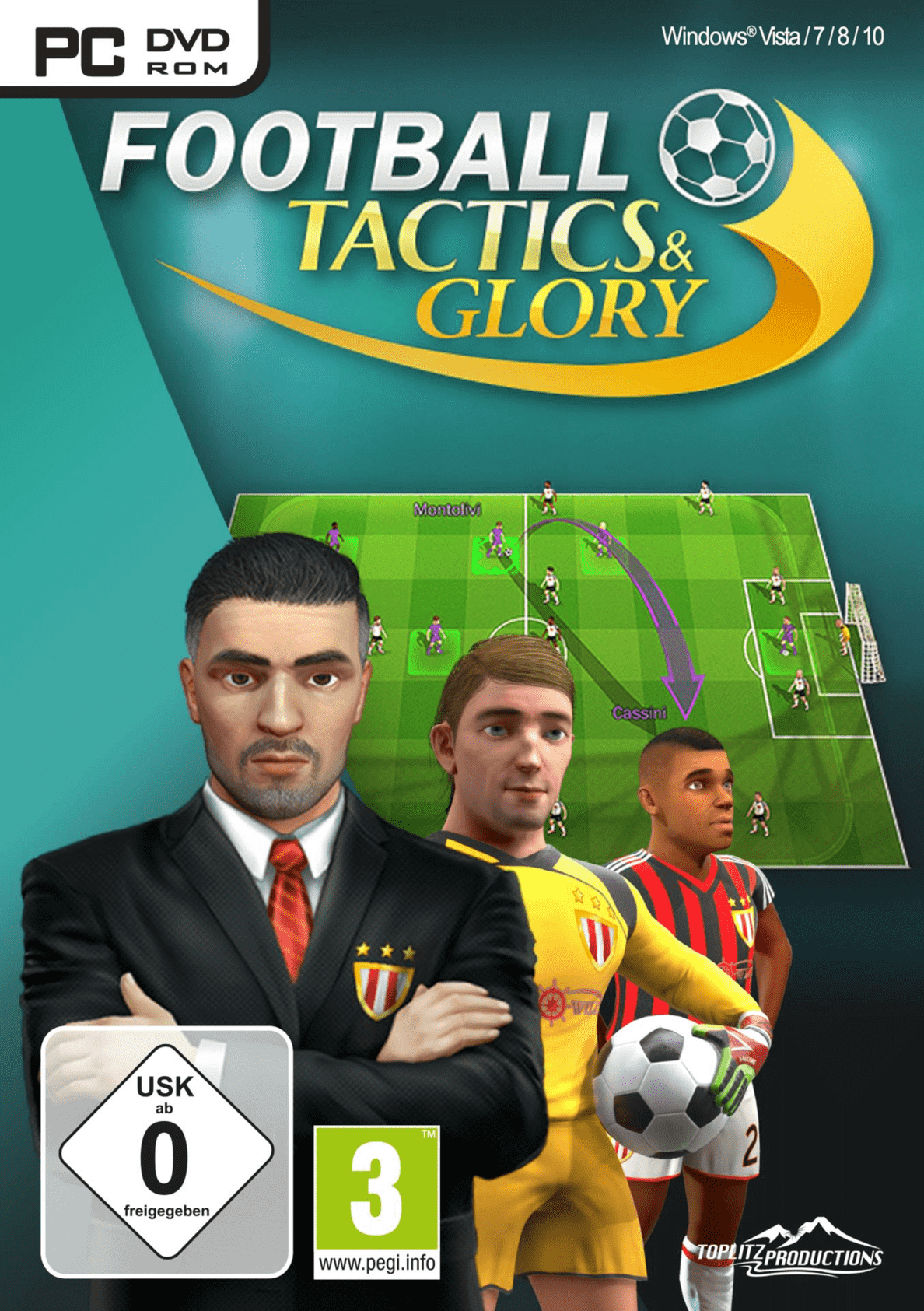 Football Tactics & Glory für PC