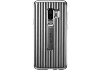 Funda para Samsung Galaxy S9 Plus - Samsung Protective Standing Cover, Plata