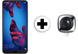 "Pack Móvil - Huawei P20, 5.8"" Full HD+, Kirin 970+IA, 4 GB RAM, 128 GB, Doble cámara, Dual SIM,"