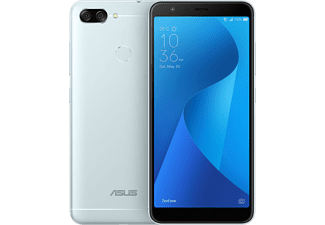 Móvil - ASUS ZENFONE MAX PLUS, 5.7, 4G, 8 MP frontal y 8 MP+16 MP trasera, 32GB internos, Android