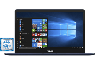 "Portátil - ASUS ZenBook Pro UX550VD-BN010T, 15.6"", Full HD, Intel® Core i7-7500HQ, 8GB de RAM,"