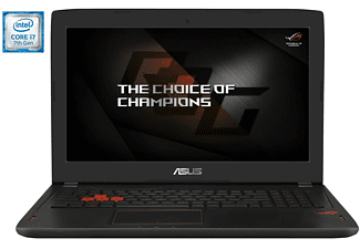 "Portátil Gaming - Asus GL502VM-FY377T, 15.6"", Full HD, Intel® Core i7-7700HQ, 12GB de RAM, 1TB"