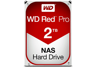 Disco duro de 2TB - Western Digital Red Pro, Serial ATA III