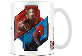 Taza - Sherwood, Spider-Man Homecoming, Iron Man