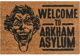 Felpudo - Sherwood, Welcome to Arkham Asylum, Batman, Marrón y negro